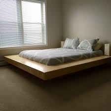 Platform Bed Diy Plans by Bed Frames Floating Bed Frame Diy Platform King Bed Plans