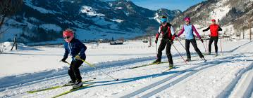 cross country skiing in the gastein valley 4 hotel sonngastein