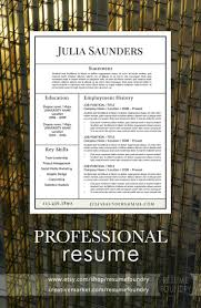 Sample Resume Format It Professional by 37 Best Masculine Resume Templates Images On Pinterest Cv