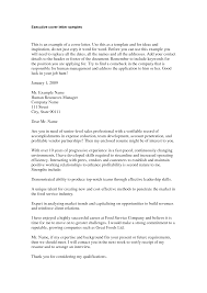 it executive cover letter choice image cover letter sample
