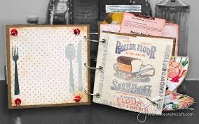 best scrapbooking recipe book ideas