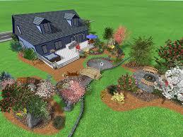 Simple Backyard Landscape Design Triyae Com U003d Large Backyard Landscaping Ideas Pictures Various