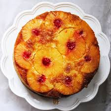 gourmet meals for less turning pineapple upside down cake