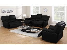 fauteuil et canapé canapé fauteuil relax cuir noir ivoire ou chocolat marcis