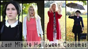 last minute halloween costume ideas mademoiselle ruta youtube