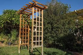 wedding arches gumtree wooden lattice garden wedding arch trellis other garden