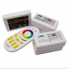 Wireless Led Strip Lights by Dc 5v Wifi Led Controller Dc 12v 24v Rgb Rf Remote Control 4pcs