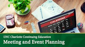Event Planners Meeting And Event Planning Certificate Unc Charlotte Continuing