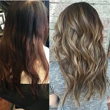 cut before dye hair best 25 balayage before and after ideas on pinterest brown