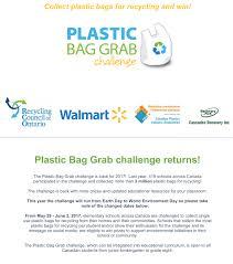 Challenge Zapytaj Plastic Bag Grab Challenge 2017 Simplyrecycle Ca