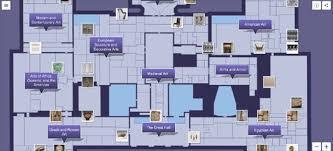 met museum floor plan maps mania mapping the met