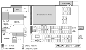 Floor Plan Library by Book Locations U0026 Floor Maps Bryn Mawr College Library