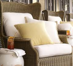 Sofa Cushion Slipcovers Saybrook Outdoor Furniture Cushion Slipcovers Pottery Barn