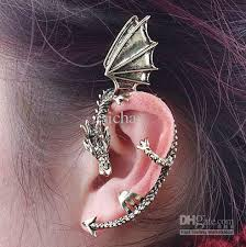 earring top of ear 2018 top quality fashion design hoop earrings cuff