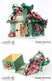 learn how to make danielle u0027s christmas pop up box using a