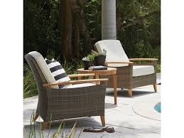 Pepper Chair Gloster Pepper Marsh Lounge Chair With Teak Arms
