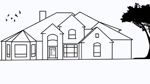 houses drawings how to draw a house 2 awesome and easy way for everyone new