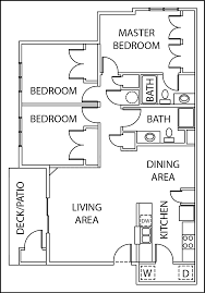 Garden Apartment Floor Plans 2 3 Bed Apartments Garden Trail Apartments
