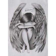 sad angel by alavony on deviantart