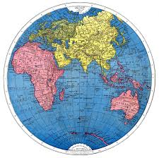 World Map Hemispheres by The Graphics Fairy Llc Vintage Printable Map Of The World