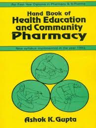 handbook of health education u0026 community pharmacy pb 2014 1st