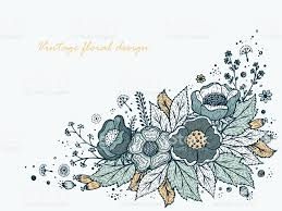 Designs For Invitation Cards Free Download Flower Garland Template For Invitation Card Vintage Floral