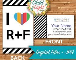 Vistaprint 9 99 Business Cards Heart Business Card Etsy
