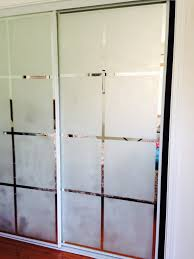 etched glass pantry doors bored of plain old mirror closet doors give it a style statement