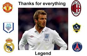 Memes De David - david beckham tribute and funny memes about retired soccer player