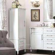 tall white bathroom cabinet modern white tall bathroom storage