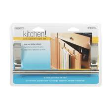 interdesign kitchen cabinet towel bar 29450 magnetic holders