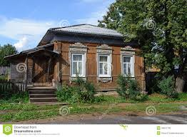 Small Country House Old Small Wooden Country House Stock Photo Image 49001730