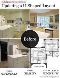 u shaped kitchen renovation video and photos madlonsbigbear com