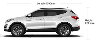 hyundai suv cars price hyundai santa fe specifications features 0 0 mileage more