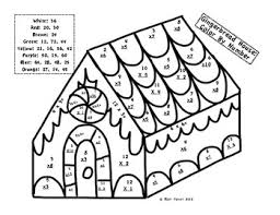 christmas coloring math worksheets free worksheets library
