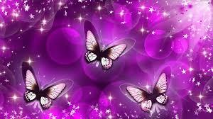 glitter wallpaper with butterflies purple wallpaper desktop gzsihai com