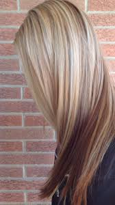 low light colors for blonde hair blonde with red lowlights hair ideas pinterest blondes hair