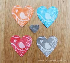 paper panda stamp valentine u0027s card craft me happy paper panda