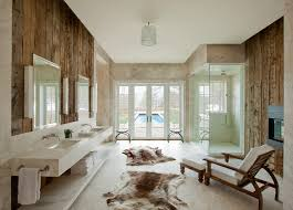 Modern Rustic Aspen Mountain Retreat Rustic Bathroom Denver - Modern rustic home design