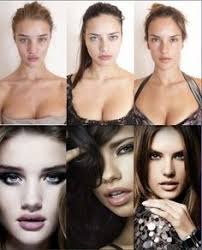 makeup photo vs photo o photo victorias secret models victoria secret fashion show victoria secret makeup how to look beautiful without