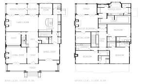 stupefying 12 four corner house plans american style home floor