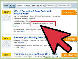 black friday amazon coupon code how to get amazon promotional codes with pictures wikihow