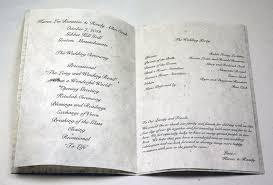 paper for wedding programs wedding programs on handmade seed paper diy and custom options