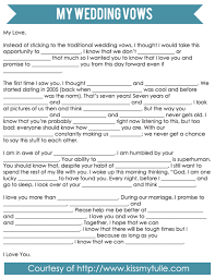 bridal mad libs mad libs style wedding vows wedding vows weddings and wedding