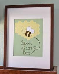 Bumble Bee Nursery Decor Bee Yourself 8x10 Photographic Print Bee Sweet Bumblebee