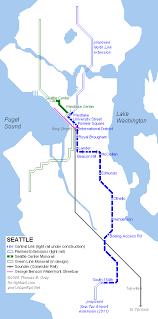 light rail map seattle seattle light rail map pdf chicago map