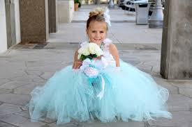 Tiffany Blue Flowers Blue Flower Dresses