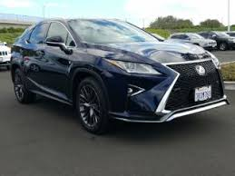 lexus 350 used for sale used 2016 lexus rx 350 f sport for sale carmax