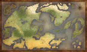 World Map Blank Commission Eleysia World Map By Jocarra On Deviantart
