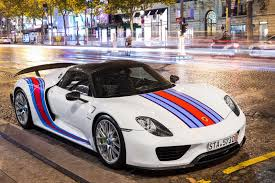porsche martini logo martini 918 spyder weissach on a quest for the best